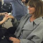 Kate Garraway using SEAMS HAnd Cream