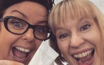Thrifty Stitcher Claire Louise-Hardy and Lisa Mejuto Good Morning Britain