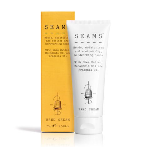 SEAMS Hand Cream 75ml Box and Tube