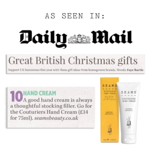 SEAMS Hand Cream The Daily Mail
