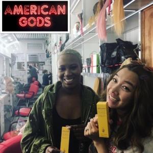 Backstage American Gods