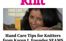 Knitting Hand Care Tips