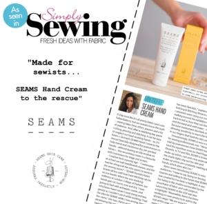 Simply Sewing SEAMS Hand Cream